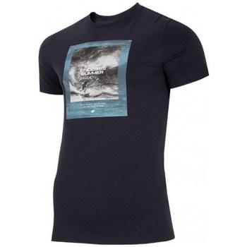 Abbigliamento Uomo T-shirt maniche corte 4F TSM028 Nero
