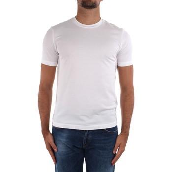 Abbigliamento Uomo T-shirt maniche corte Cruciani CUJOSB G30 Bianco