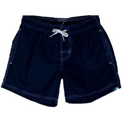 Abbigliamento Bambino Costume / Bermuda da spiaggia Sundek BOXER 504 ARCOBALENO RAGAZZO blu (609NVY)