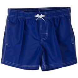 Abbigliamento Bambino Costume / Bermuda da spiaggia Sundek BOXER 504 ARCOBALENO RAGAZZO blu (580MINERALBLUE)