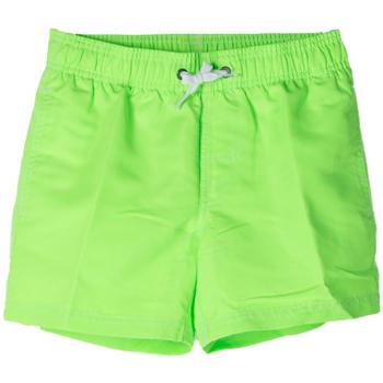 Abbigliamento Bambino Costume / Bermuda da spiaggia Sundek BOXER 504 ARCOBALENO RAGAZZO verde (559FLUO GREEN)