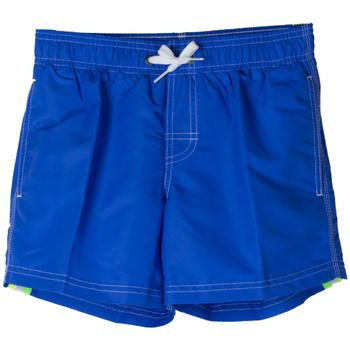 Abbigliamento Bambino Costume / Bermuda da spiaggia Sundek BOXER 504 ARCOBALENO RAGAZZO blu (558SAPPHIRE)