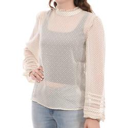 Abbigliamento Donna Top / Blusa Vila 14066619 Beige