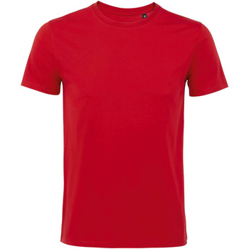 Abbigliamento Uomo T-shirt maniche corte Sols Martin camiseta de hombre Rojo