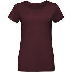 Abbigliamento Donna T-shirt maniche corte Sols Martin camiseta de mujer Burdeo