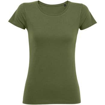 Abbigliamento Donna T-shirt maniche corte Sols Martin camiseta de mujer Kaki