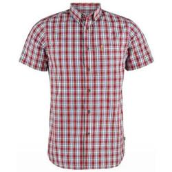 Abbigliamento Uomo Camicie maniche corte Fjallraven Camicia Ovilk Uomo Rossa Rosso