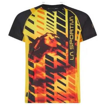 Abbigliamento Uomo T-shirt maniche corte La Sportiva T-shirt Wave Uomo Gialla Giallo