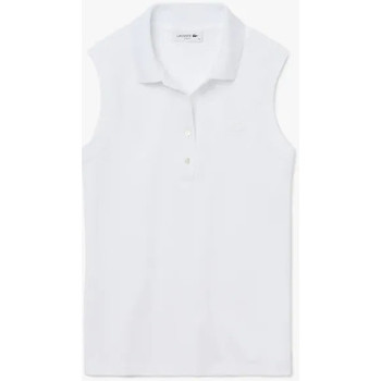 Abbigliamento Donna Polo maniche corte Lacoste Polo Best Donna Bianco Bianco