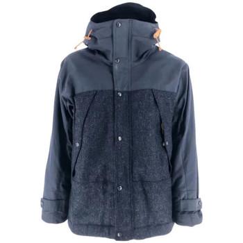 Abbigliamento Uomo Parka Manifattura Ceccarelli Giacca Two Tone Mountain Jacket Uomo Blu