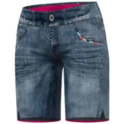 Abbigliamento Donna Shorts / Bermuda Crazy Idea Pantaloncini Wonder Donna Jeans Blu