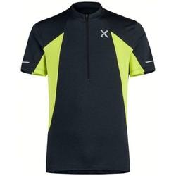 Abbigliamento Uomo T-shirt maniche corte Montura T-shirt Track Zip Uomo Grigia Grigio