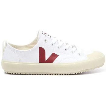 Scarpe Uomo Sneakers basse Veja Scarpe Nova Canvas Uomo Bianche Bianco
