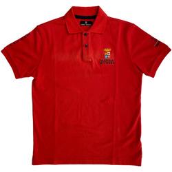 Abbigliamento Uomo Polo maniche corte Marina Militare ATRMPN-27995 Rosso
