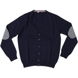 Abbigliamento Uomo Gilet / Cardigan Romeo Gigli ATRMPN-28003 Blu