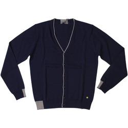 Abbigliamento Uomo Gilet / Cardigan Manuel Ritz ATRMPN-28019 Blu