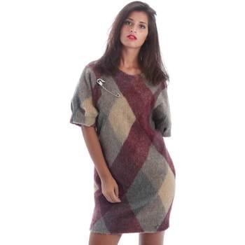 Abbigliamento Donna Abiti corti Y Not? Y17AI048 Grigio