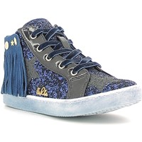 Scarpe Bambina Sneakers alte Lulu LS150014S Blu