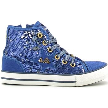 Scarpe Bambina Sneakers alte Lulu LV010070T Blu