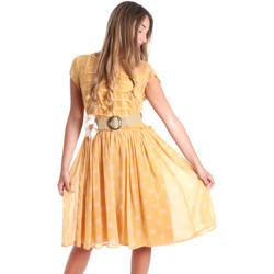 Abbigliamento Donna Abiti corti Fracomina FR20SMORIANA Giallo