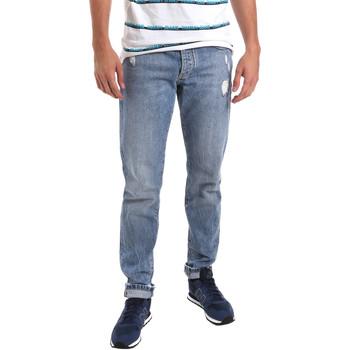 Abbigliamento Uomo Jeans slim Sseinse PJE625SS Blu