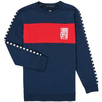 Abbigliamento Bambina Felpe Vans SOLAL Blu / Rosso
