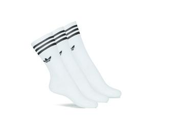 Biancheria Intima Calzini alti adidas Originals SOLID CREW SOCK X3 Bianco