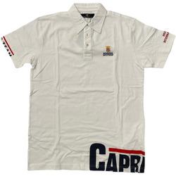 Abbigliamento Uomo Polo maniche corte Marina Militare ATRMPN-28090 Bianco