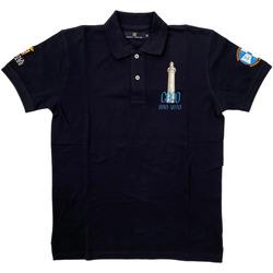 Abbigliamento Uomo Polo maniche corte Marina Militare ATRMPN-28092 Blu