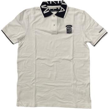 Abbigliamento Uomo Polo maniche corte Marina Militare ATRMPN-28094 Bianco