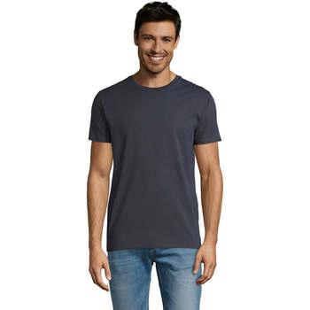 Abbigliamento Uomo T-shirt maniche corte Sols Martin camiseta de hombre Gris