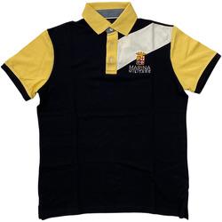 Abbigliamento Uomo Polo maniche corte Marina Militare ATRMPN-28103 Blu