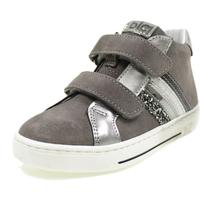 Scarpe Bambina Sneakers alte Balocchi MARLEY GRIGIO