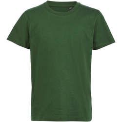 Abbigliamento Unisex bambino T-shirt maniche corte Sols CAMISETA DE MANGA CORTA Verde