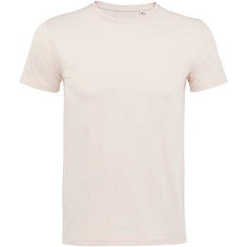 Abbigliamento Uomo T-shirt maniche corte Sols CAMISETA DE MANGA CORTA Rosa