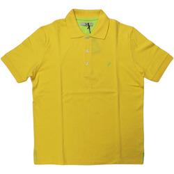 Abbigliamento Uomo Polo maniche corte Ingram ATRMPN-28111 Giallo