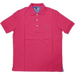 Abbigliamento Uomo Polo maniche corte Ingram ATRMPN-28113 Rosa