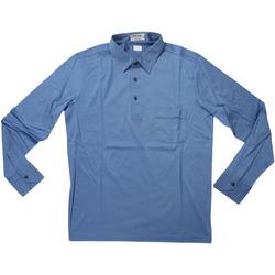 Abbigliamento Uomo Polo maniche lunghe Felly Frisk ATRMPN-28122 Blu