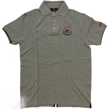 Abbigliamento Uomo Polo maniche corte Marina Militare ATRMPN-28124 Grigio