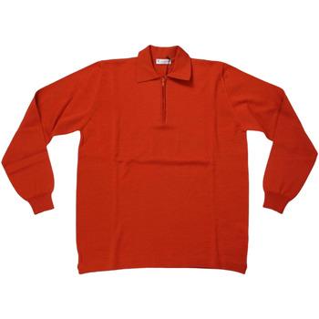 Abbigliamento Uomo Polo maniche lunghe Ferrante ATRMPN-28130 Arancio