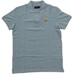 Abbigliamento Uomo Polo maniche corte Marina Militare ATRMPN-28138 Blu