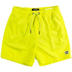 Abbigliamento Bambino Costume / Bermuda da spiaggia Billabong COSTUME BOXER ALL DAY RAGAZZO giallo (5586NEON)