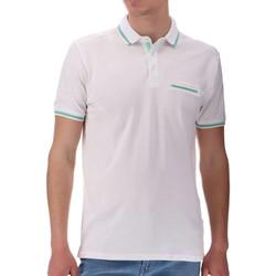 Abbigliamento Uomo Polo maniche corte Sun Valley SV-BENGAL Bianco