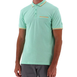 Abbigliamento Uomo Polo maniche corte Sun Valley SV-BENGAL Verde