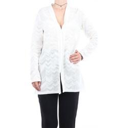 Abbigliamento Donna Gilet / Cardigan Missoni 2DM00010-2K0002 Cardigan Donna Bianco Bianco