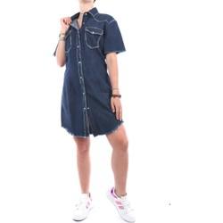 Abbigliamento Donna Abiti corti Cycle VC31201 Di Jeans Donna Blu profondo Blu profondo