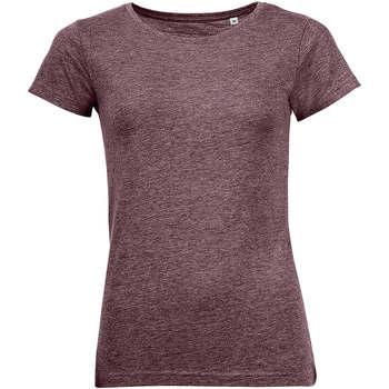 Abbigliamento Donna T-shirt maniche corte Sols Mixed Women camiseta mujer Burdeo