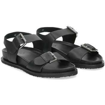 Scarpe Donna Sandali Inuovo sandalo 781004 pelle nera NERO
