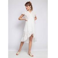Abbigliamento Donna Abiti corti Fashion brands U5233-BLANC Bianco