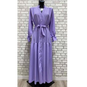 Abbigliamento Donna Abiti lunghi Fashion brands 2155-LILAS Lilas